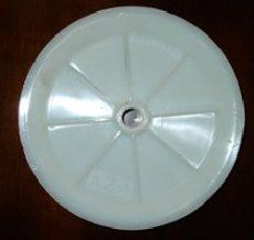 műanyag vezető kerék 165 mm