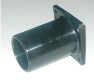műanyag csőcsatlakozó csonk 48 Duplo m.e./CSA garat