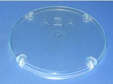 műanyag fedél garat ellenőrző nyílásra, átlátszó