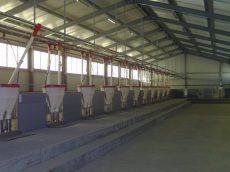 6 m-es behordó szakasz AZA-60 láncos behordó