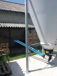 AZA 60 spirálos felsőpályás behordó rendszer 2 vonalas