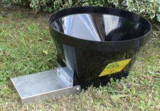 műanyag siló adapter 440/1, kültéri, suberfedéllel
