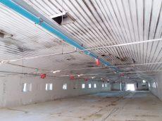 AZA 75 felsőpályás spirálos behordó rendszer