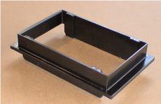 műanyag vízszintes toldat 440/1-2 műanyag siló csatlakozóhoz