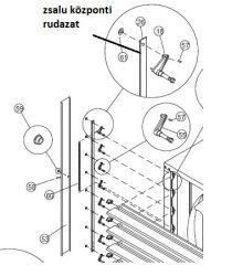 lamella összekötő rudazat ES 120