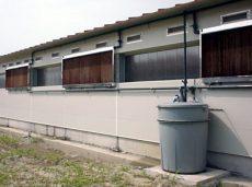 hűtőpanel szerelési egységcsomag - 50 mm-es vízellátó szerelvény készlet