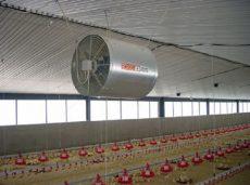 ACF 26-6 légkeverő ventilátor 3~ horg.