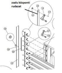 ventilátor zsalu központi rudazat EOS 50 (#26)