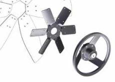 ventilátor lapát utángyártott készlet EOS 50 ALU