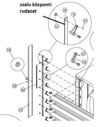 ventilátor zsalu központi rudazat EOS 36 (#26)