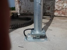 mérőcella mod. LC4-K7M5 7500 kg, rozsdamentes acél