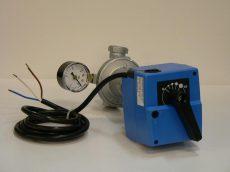 motoros nyomás-szabályozó egység MS40/HLX24SR/608   20-1400 mbar 24V-0-10 Vdc