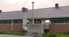 Multiheat 185plus levegő-levegő hőcserélő állomás