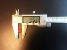 vízszintjelző műanyag golyó 9,5 mm