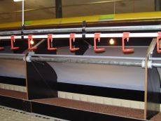 Impex csepptálcás szelepes önitató egység 3,03 m 22x22 mm 15 szeleppel, csepptálcával, merevítőcsőve