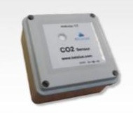 CO2 érzékelő, 0 - 5000 ppm, kimenet 0-10 V, 24 VDC