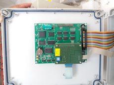 előlapi PCB kijelzővel MCC-10