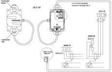 jelátalakító (VFC-20) 30 kg-os mérőcellával baromfimérleghez