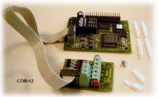 COM-12 kommunikciós kártya (RS-485), beépített