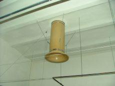 TPU-520 kémény kürtő D=520, L=2M pillangó szeleppel