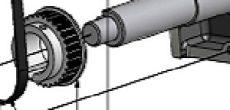 bordásszíjtárcsa PG-GT/z30/D28/ABS