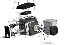 hajtófogaskerék M1/Z18R15/B13/D9/L26