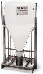 hízó száraz-nedves kombinált önetető Mewaco 2x2 állásos, 2x1 itatószeleppel