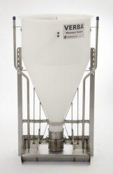 malac száraz-nedves kombinált önetető Mewaco 2x2 állásos, 2x1 itatószeleppel, 10-40 kg élősúly közöt