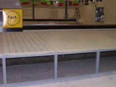 TT-9060-PP műanyag trágyarács 600x900 mm