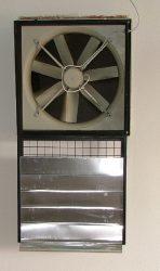 FC045-4DQ.4C.A7 3 fázisú fali axiál ventilátor védőráccsal