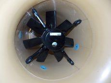 FC050-4ET.4I.A7 1 fázisú kürtőventilátor