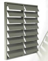 WSK műanyag ventilátor zsalu 450 mm