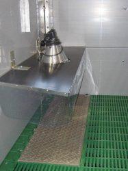 elektromos malac melegítő lap 120x40 cm, 120W, polimer-beton