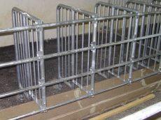 egyenes polimer-beton etetővályú 100 cm
