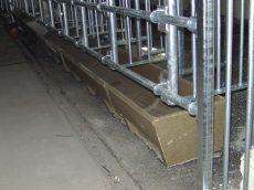 egyenes polimer-beton etetővályú 50 cm