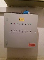 villamos kapcsolószekrény típusszám FT105030