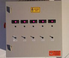 villamos kapcsolószekrény típusszám FT905042
