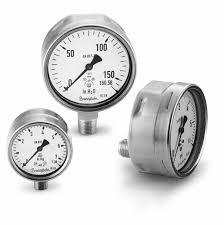 nyomásmérő óra SS, d.63 315 bar