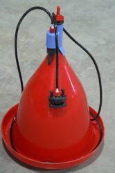 Jumbo-B csirkeitató szerelvényekkel (gerinccsatlakozóval, tömlővel, nylon kötél szintállítóval)