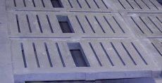 beton rácspadló 1,6x0,4x0,08 m